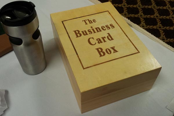The wooden pen store wood business card box business card box reheart Image collections